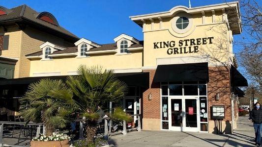 Outside of King Street Grille Myrtle Beach